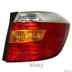 Oem Toyota Highlander Passenger Tail Lamp Assembly 81551-48160 Fits 2008-2012
