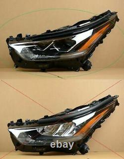 Perfect! 2020 2021 Toyota Highlander LED Headlight Left LH Driver OEM Full LED