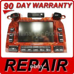 REPAIR 2004 2007 Toyota Highlander OEM Navigation Display Screen Repair Only