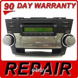 REPAIR SERVICE ONLY Toyota Highlander Radio MP3 CD Player FIX JBL OEM Blutooth