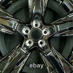 SET OF 4 19 Black Chrome Wheels for 14-19 Toyota Highlander OEM Quality 75163