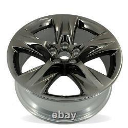 Single 19 Dark Chrome Wheel For 17-19 Toyota Highlander OEM Quality 75229