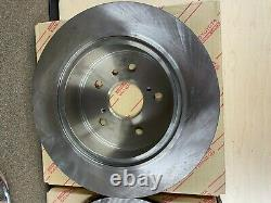 TOYOTA GENUINE OEM NEW 2001-2003 4WD HIGHLANDER REAR DISC BRAKE ROTORS qty 2