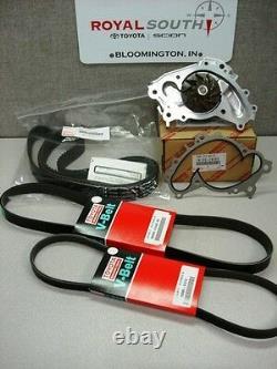 Toyota 03-07 Highlander 3.3L Timing Belt Water Pump Kit OE