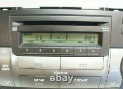 Toyota 2008-2010 Highlander OEM 86120-48E50-E0 AM FM 6 CD Radio Player Receiver