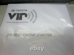 Toyota 2014 2015 2016 Highlander Remote Engine Start RES Genuine OEM OE