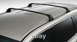 Toyota 2014-2017 Highlander Cross Bar Kit With Roof Rails Genuine OEM OE