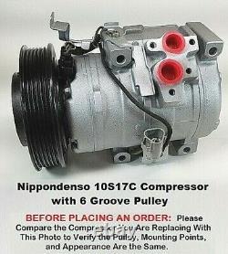 Toyota Camry, Avalon, Solara, Highlander, Lexus OEM Denso 10S17C AC Compressor