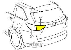 Toyota Genuine New Oem 2014-2016 Highlander Lh Drivers Side Inner Tail Lamp