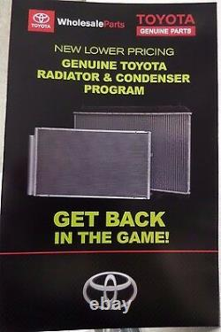 Toyota Highlander 01-07 V6 (Tow Package) Radiator Assembly with Cap Genuine OEM