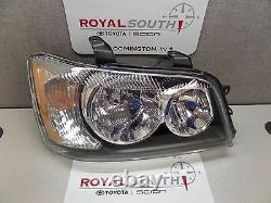 Toyota Highlander 2001 2003 Right Front Headlight Lamp Genuine OEM OE
