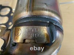 Toyota Highlander 2004-2007 Genuine Oem Rear Bank 1 Exhaust Manifold & Gaskets