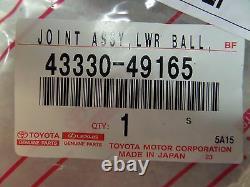 Toyota Highlander 2008 2012 Front Lower Ball Joint Set Genuine OEM OE