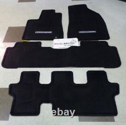 Toyota Highlander 2014 2018 Carpet Floor Mats (Bench Seats) Set Genuine OEM