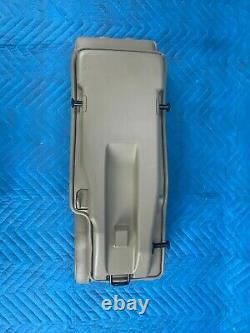 Toyota Highlander 2nd Row Center Folding Jump Middle Seat Sand 2008-2013 OEM