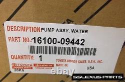 Toyota Highlander (3.5L V6) (2008-2015) OEM Genuine WATER PUMP 16100-09442