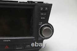 Toyota Highlander GPS Navigation Radio Display 86120-0E250-C0 OEM A944 08-11 20