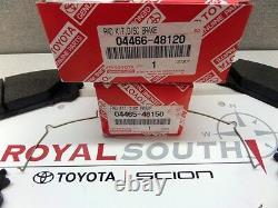 Toyota Highlander Hybrid Front & Rear Brake Pads Set Genuine OEM OE