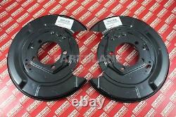 Toyota Highlander Lexus RX330 RX350 RX400h OEM Parking Brake Plates Left & Right
