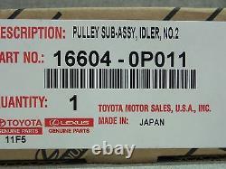 Toyota Highlander Rav4 Venza V6 Drive Belt Tensioner Kit Genuine OEM OE