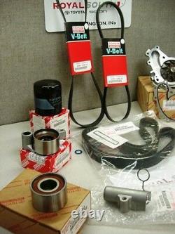Toyota Highlander Timing Belt Water Pump Tensioner Idler Kit Genuine OE OEM