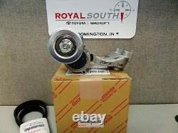 Toyota Highlander V6 Serpentine Drive Belt & Tensioner kit Genuine OEM OE