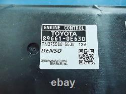 Toyota Highlander new 2013 OEM ECM Part# 89661-0E630