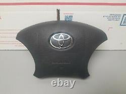 Toyota Tundra 4runner Highlander Sequoia Tacoma Driver Air Black Bag Oem Srs